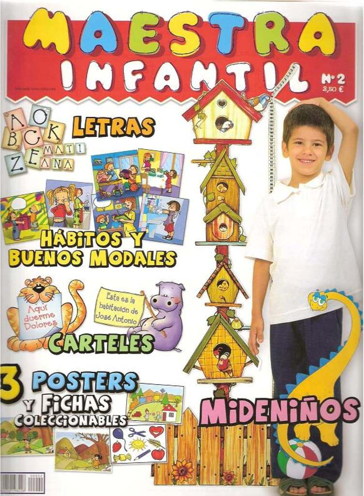 Revista Maestra Infantil N� 02 - H�bitos y Buenos Modales ...